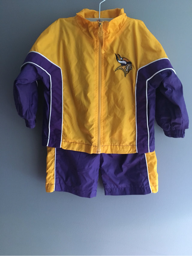 cheap for discount 70199 d0721 Minnesota Vikings NFL Track Suit