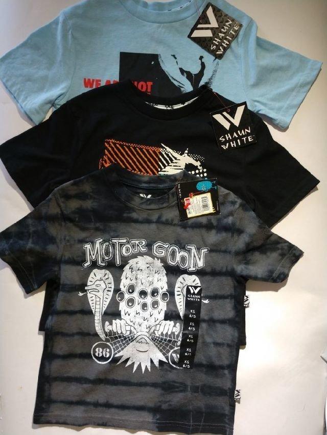 Boys Bundle Shaun White Shirts