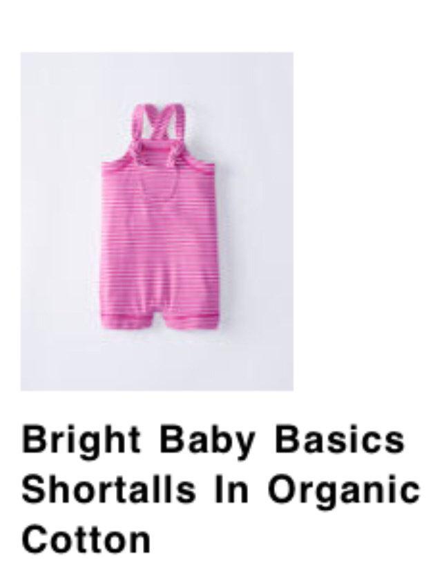 759eb4391 NWT HA 80 Organic Bright Baby Basics