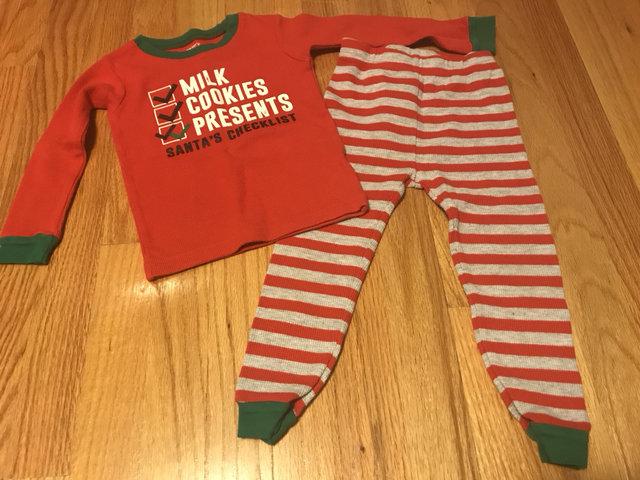 c2b39ae84f59 Carters Thermal Christmas Pajamas