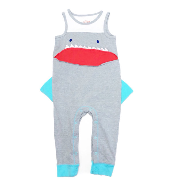 f58116db8c3d Cat   Jack Shark Romper