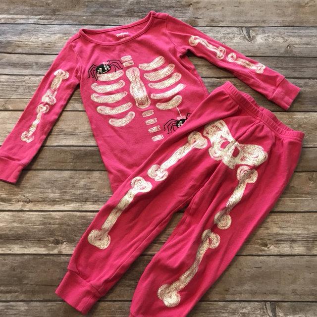 67fff653a Glow In The Dark Skeleton Pajamas