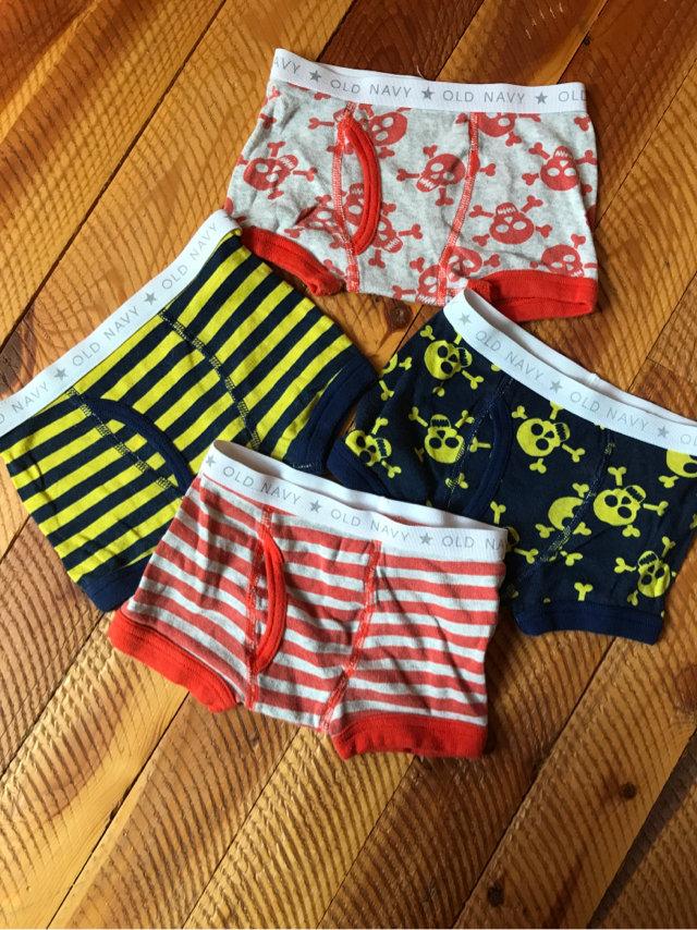 "Boy/'s Old Navy Boxer Boxers Briefs Underwear Size Large 24/"" 25/"" SHIELD BLACK New"