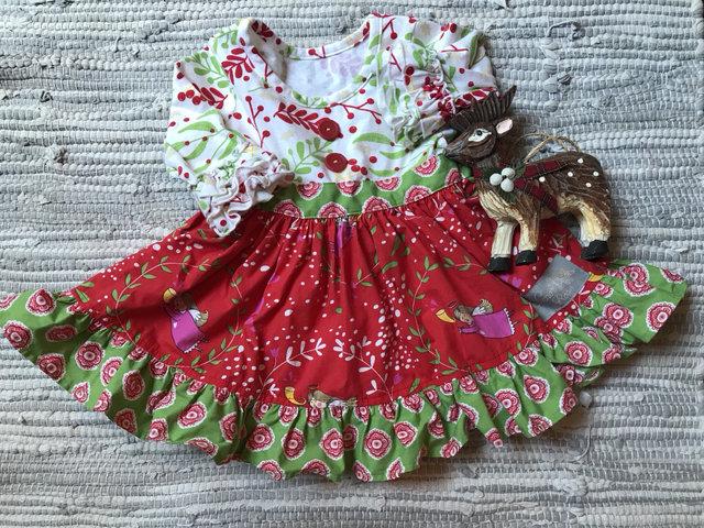 Eleanor Rose Christmas Dress