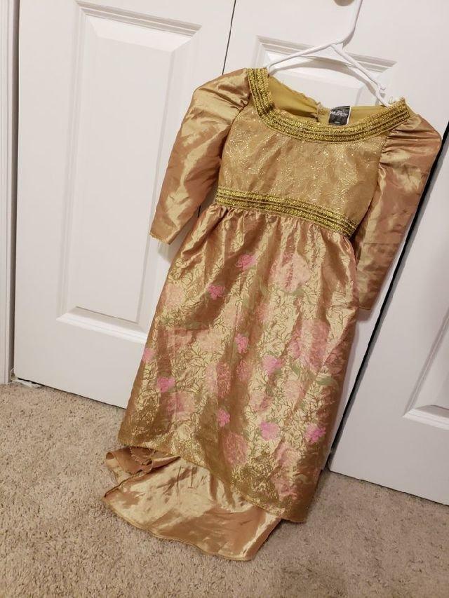 Maleficent Gold Dress