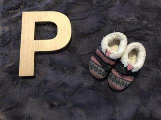 b0a609855cd752 SALE Toms Sz 4 Baby Girl Fuzzy Slip Ons