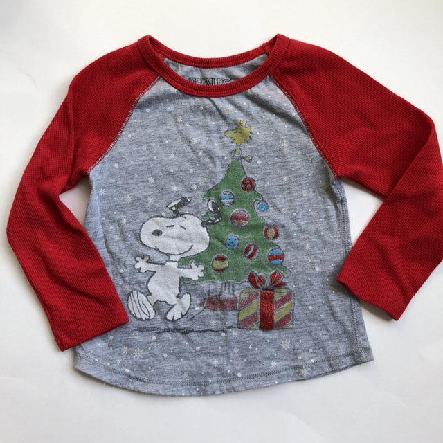 peanuts christmas shirt 3t - Peanuts Christmas Shirt