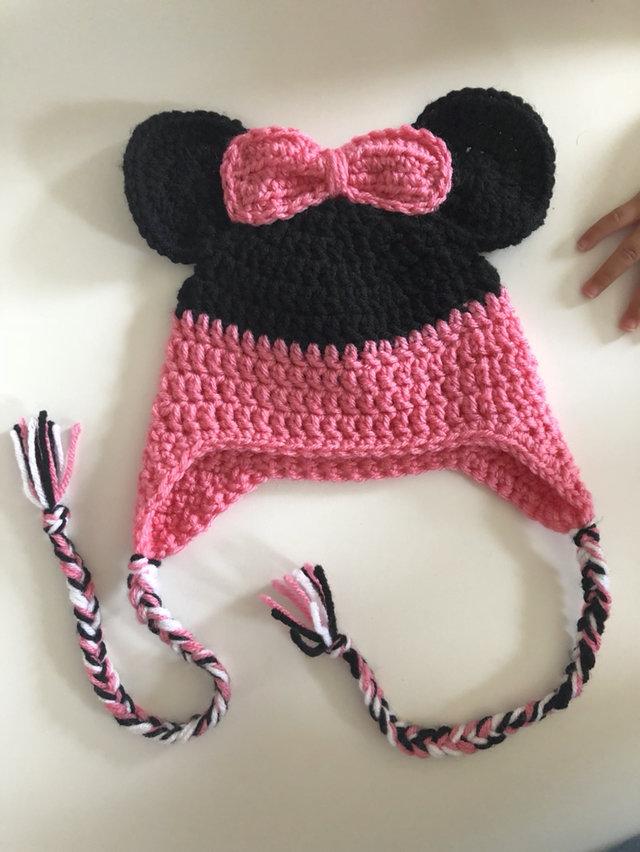 Handmade Minnie Mouse Hat