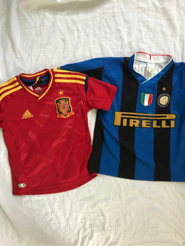 4/4t Soccer Jerseys Bundle