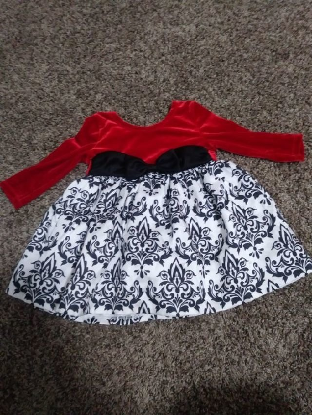 12 month christmas dress - 12 Month Christmas Dress
