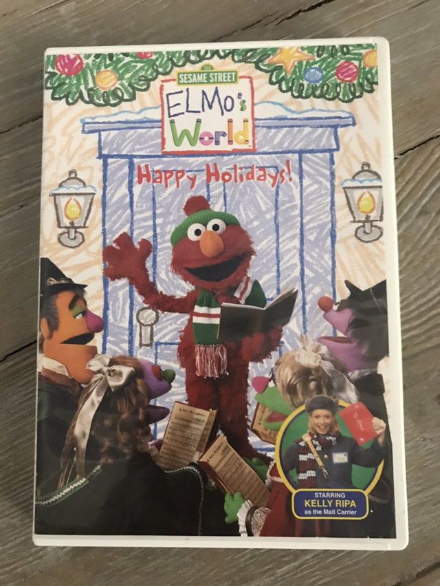 Elmo S World Happy Holidays Dvd