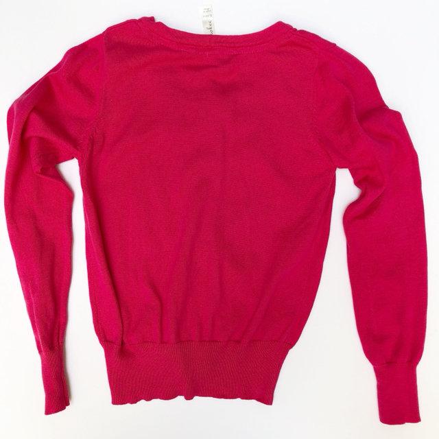 Cherokee Hot Pink Cardigan Sweater