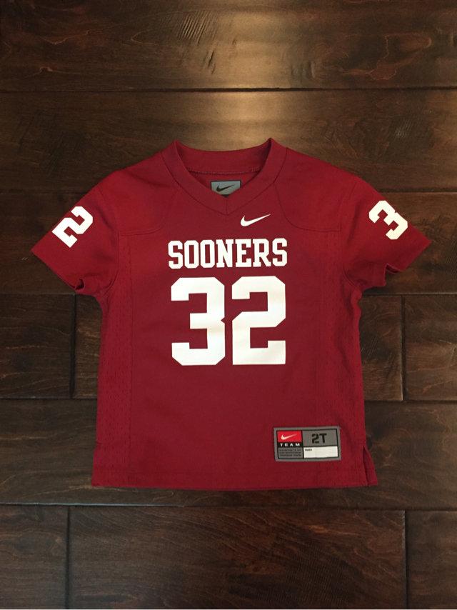 best loved ef4ee a37cb University of Oklahoma Football Jersey 🏈