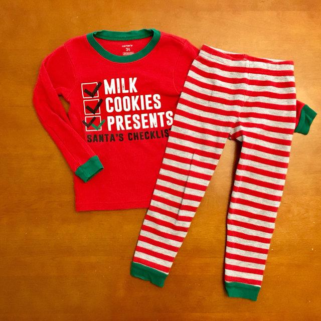 0f9c09d0780d Carter s Holiday Milk   Cookies Pajamas