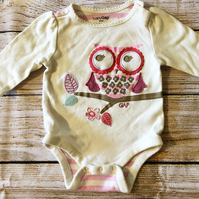 1e0413e2e Message Seller; Add to collection Checked collection Add to Collection. Baby  Gap Owl Onesie