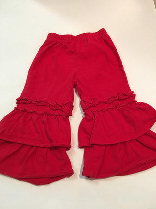 0208bb7b01 Southern Tots Red Ruffle Pants