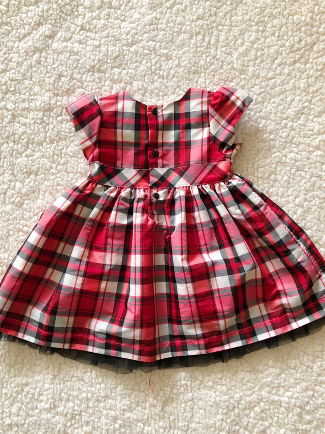 12 month carters christmas plaid dress - 12 Month Christmas Dress
