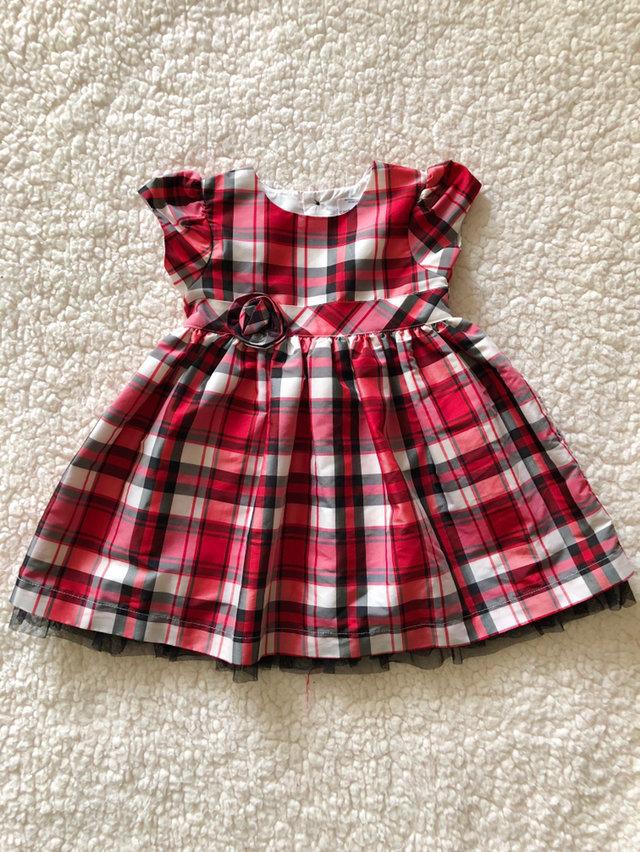 12 month carters christmas plaid dress - Christmas Plaid Dress