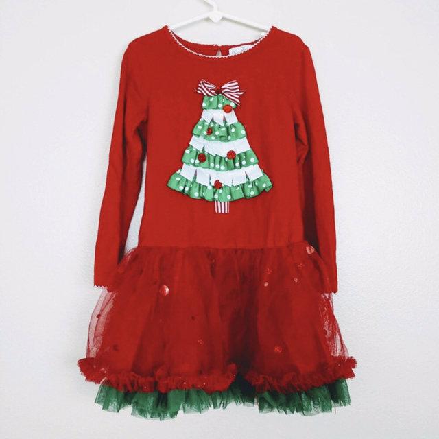 rare editions christmas party tutu dress 6 i18