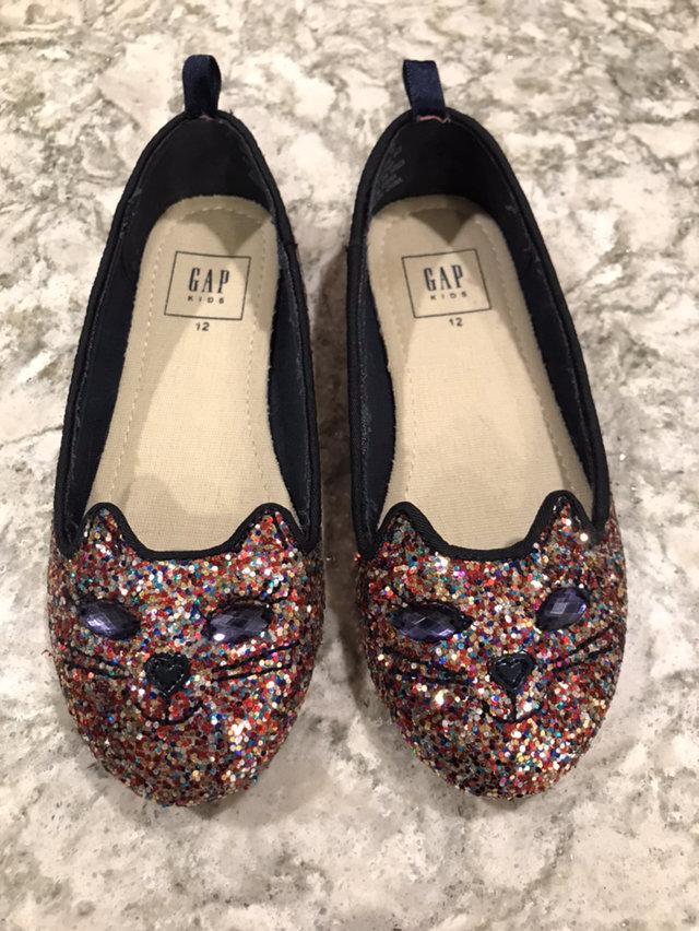 Gap Rainbow Sparkle Cat Shoes