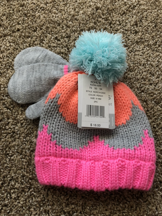 12f64f215029e 👛Sale👛Infant Winter Hat And Glove Set