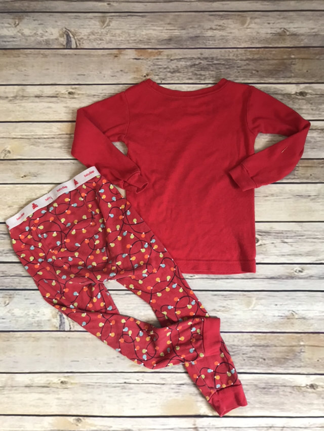 gap christmas tree truck pajamas