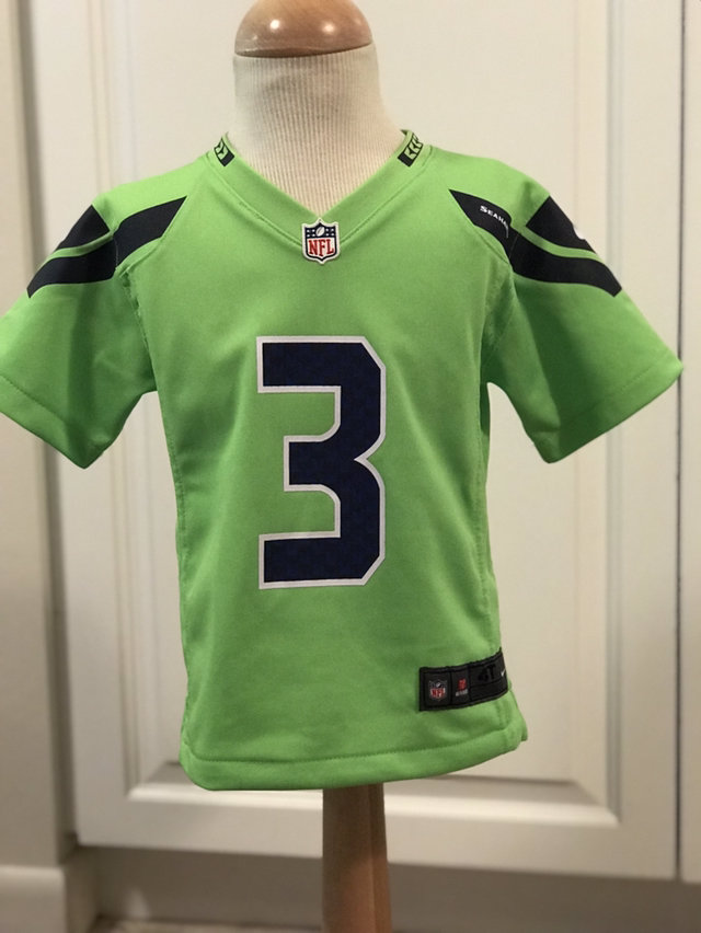 new style 33aec 4ea39 Seattle Seahawks NFL Football Jersey Russell Wilson #3 QB ...