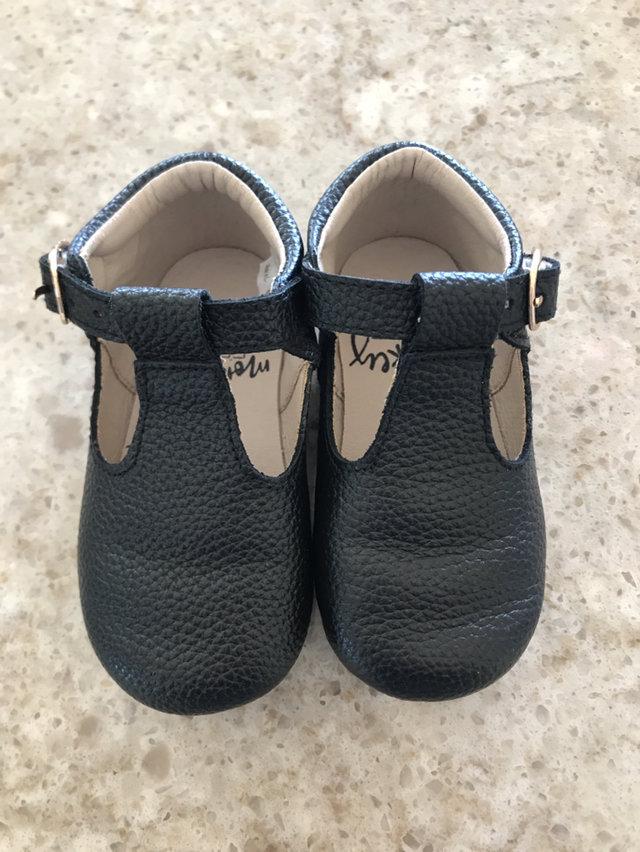Monkey Feet T-strap Shoes