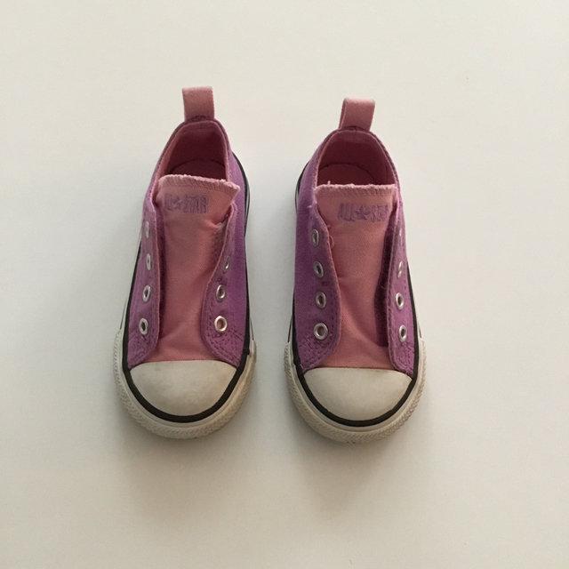 cb3835bdbd5d ... reduced purple pink velcro converse 0753f 72677