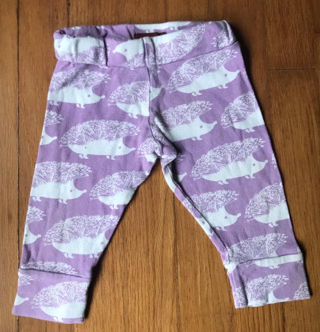 ec77cbc96 MilkBarn Hedgehog Organic Cotton Baby Leggings 6-12mos