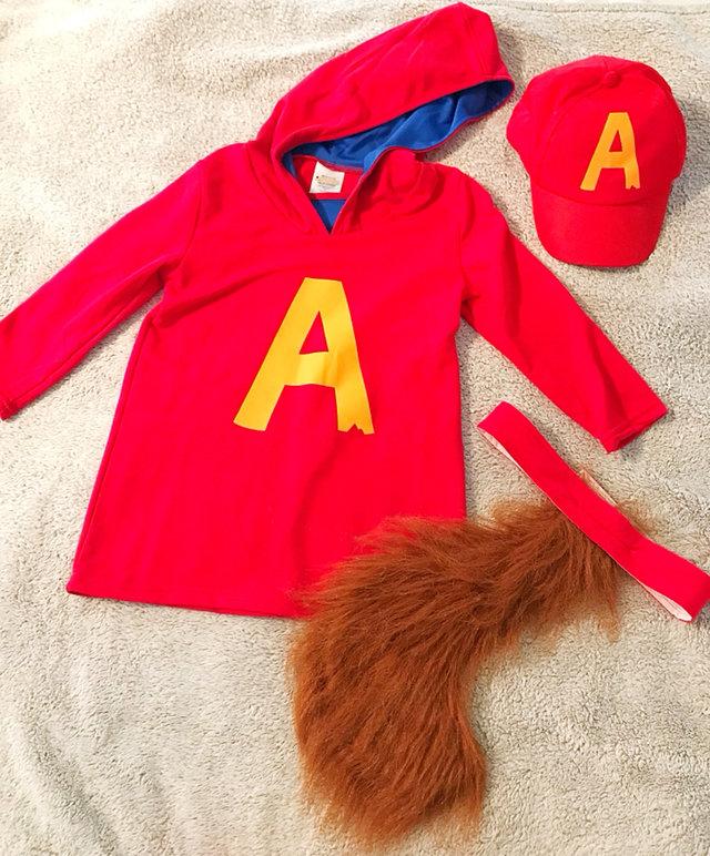 Alvin The Chipmunks Costume