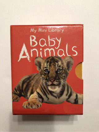 1eea333c3 Baby Animals Books-Mini Library 📚