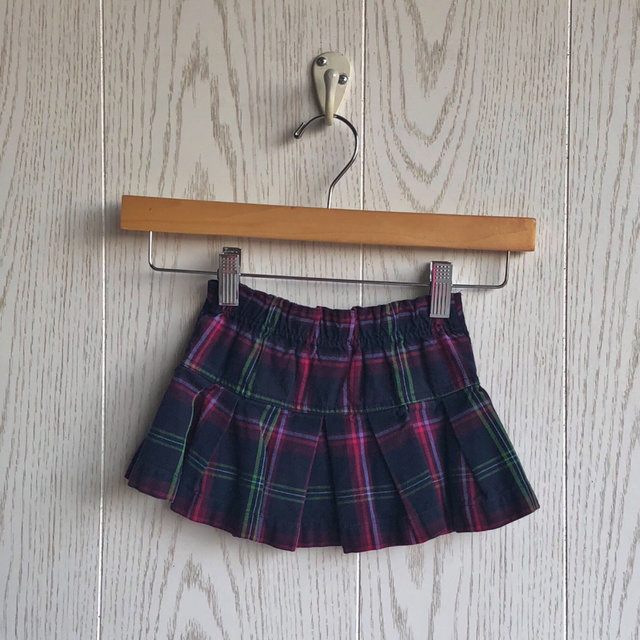 597f186dff Message Seller; Add to collection Checked collection Add to Collection. Baby  Gap Plaid Skirt