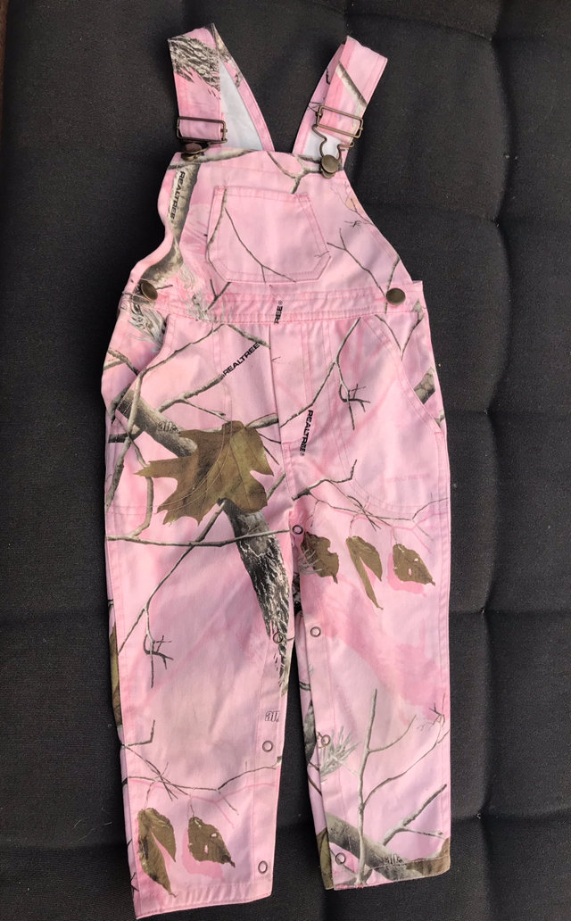 010be731ef13a Message Seller; Add to collection Checked collection Add to Collection. Bass  Pro Shop Pink True Timber Bib Overalls