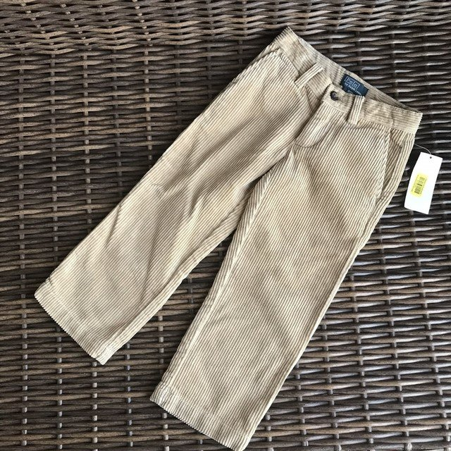 Clothing, Shoes & Accessories Polo Ralph Lauren Navy Blue Corduroy Pants Boys Size 3t Adjustable Waist