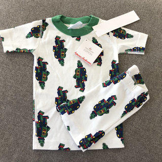7d512fcafde NWT Hanna Andersson Robot Short Johns Size 90