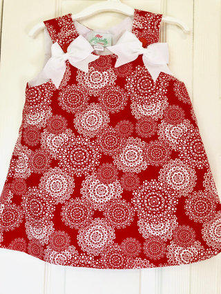 951a10e6771c3 Lolly Wolly Doodle Red Dress