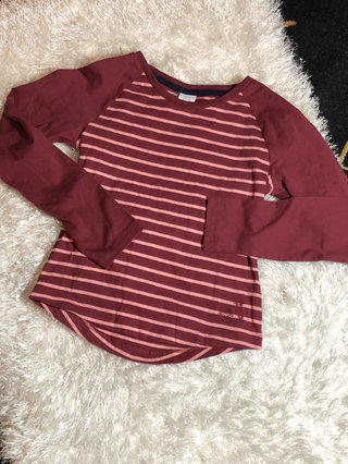 654a234316b Polarn O. Pyret Sweden Striped Shirt For Girls