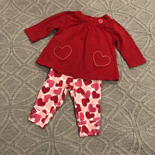 a14840eb5 Carter's Valentine Tunic Pants Set 3m