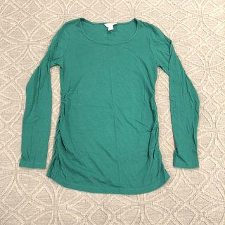 2f8def960f98e Three Seasons Maternity Green Shirt