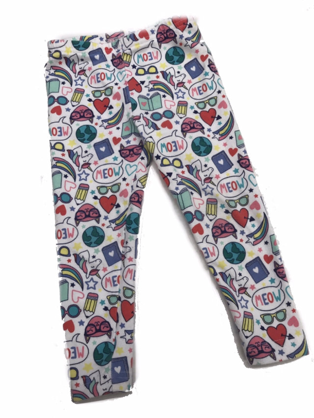 ce12519eb72f0b Fun Print Carters Leggings Size 24 Months