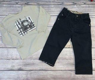 b70663dd8a68 Authentic Burberry Boy Top/Pant Bundle