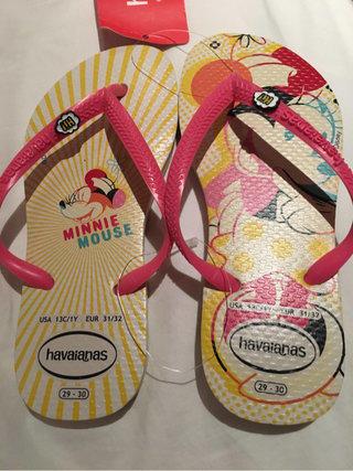 74cfe3e98ce2 Havaiana Kids Flip Flops Minnie Mickey Disney