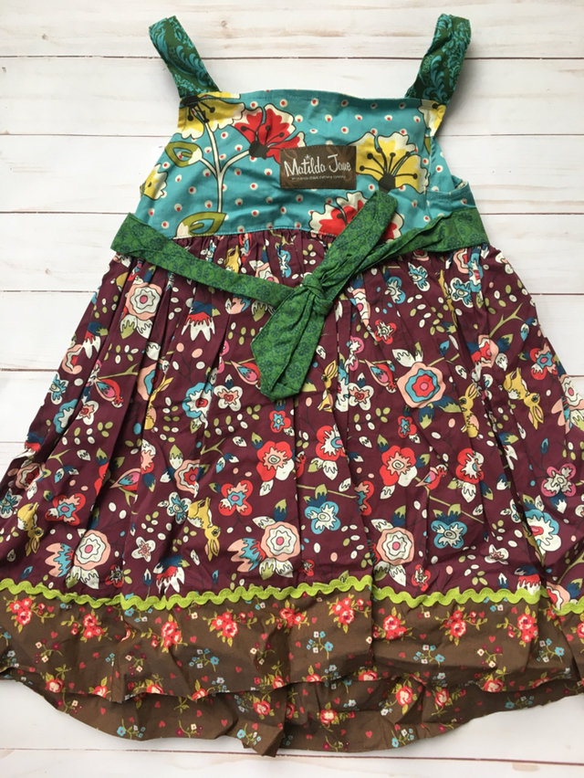 Matilda Jane Sz4 Knot Dress