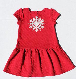 a1e791c4e46c Gymboree Snowflake Red Dress. Size 5T