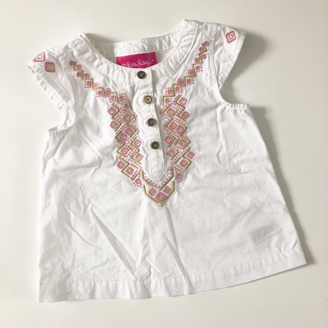f0c001c4978 Message Seller; Add to collection Checked collection Add to Collection. Lilly  Pulitzer For Target Embroidered Top Size 12M