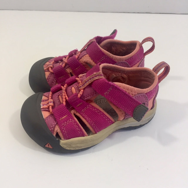 Pink Keen Sandals Size 5 Baby Toddler