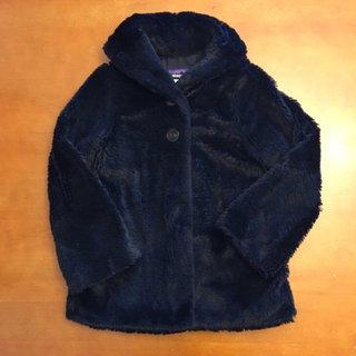 c2c329480 Patagonia Black Faux Fur Pelage Jacket (8)