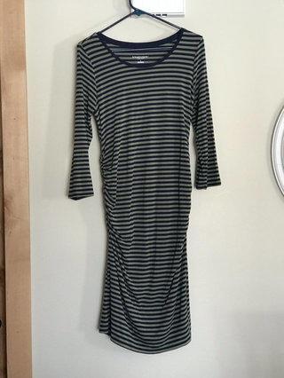 34251133816c0 S Liz Lange Maternity Stretchy Cotton Striped Dress