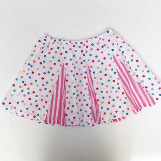 d8ffe0a83 Garnet Hill Polka Dot & Stripes Skirt